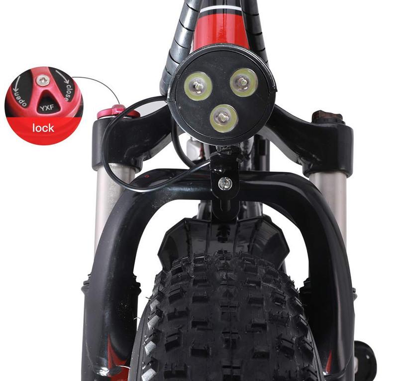 Test et Avis GUNAI Vélo de Montagne électrique Pliant