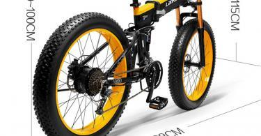 Test et Avis LANKELEISI 750PLUS 48V14.5AH 1000W MoteurTout-Puissant Vélo Électrique