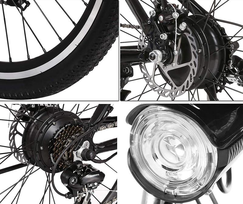 Test et Avis Laiozyen Vélo Electrique 26 e-Bike VTT Pliant 36V 250W