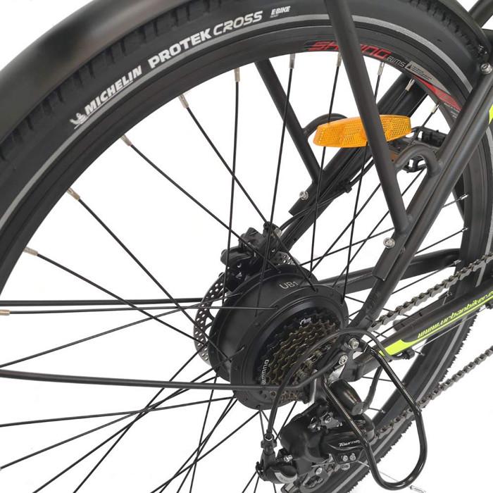 Test et Avis URBANBIKER Vélo électrique VTC modèle VIENA