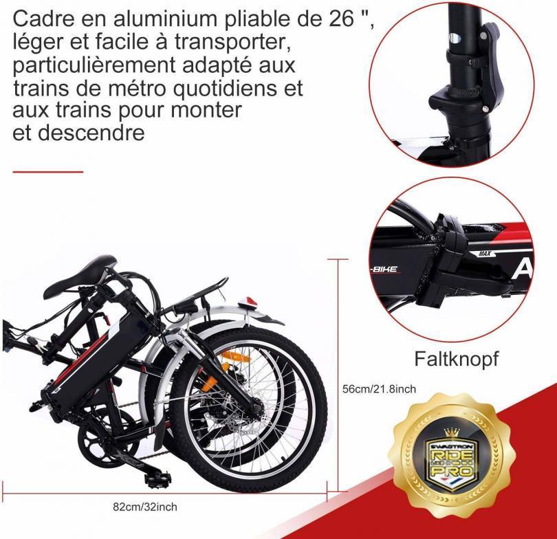Avis Speedrid Vélo Electrique, 2019 26 Plus