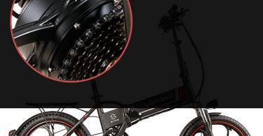Test Lixada Vélo électrique Pliant de 20 Pouces