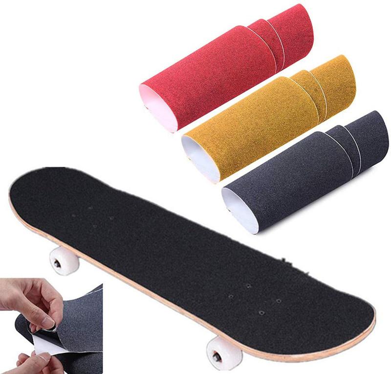 Bande antidérapante Sable papier Skateboard Skate Skating Scooter Autocollant Longboarding Rycnet