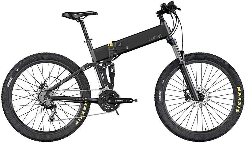 Avis Legend Etna Vélo VTT Eléctrique VAE E-MTB Smart eBike 27,5 pouces