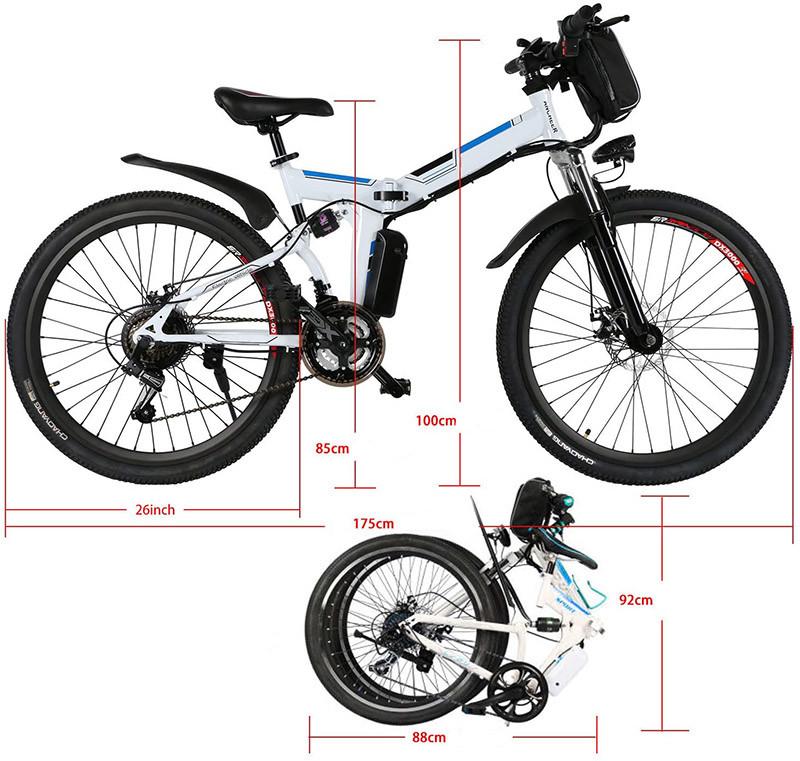 Bunao Vélo électrique pour vélo de Montagne électrique