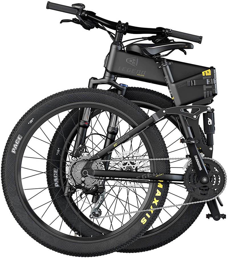 Legend Etna Vélo VTT Eléctrique VAE E-MTB Smart eBike 27,5 pouces