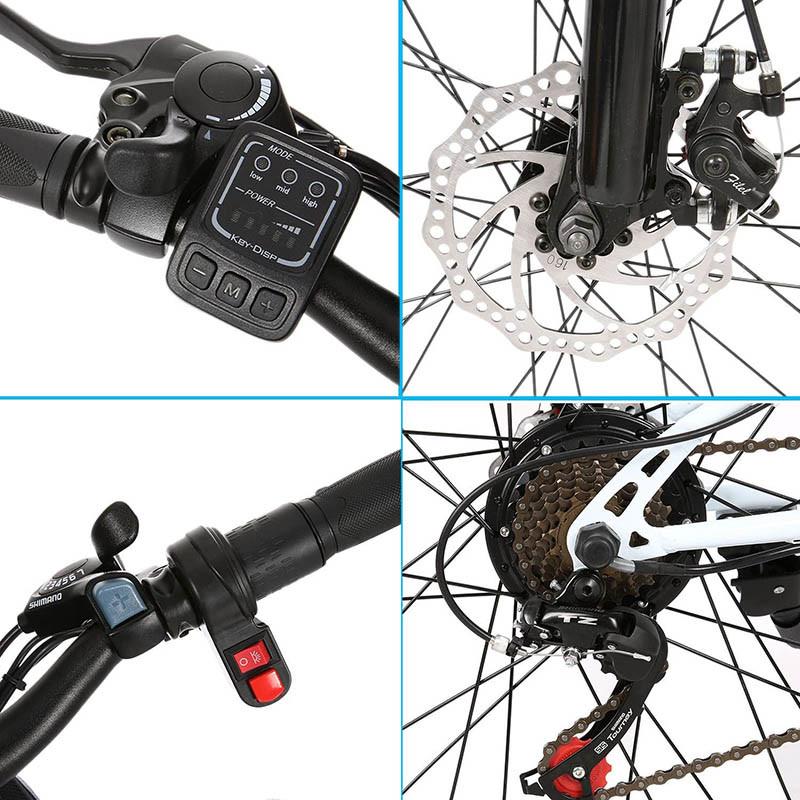 Test Bunao Vélo électrique pour vélo de Montagne électrique