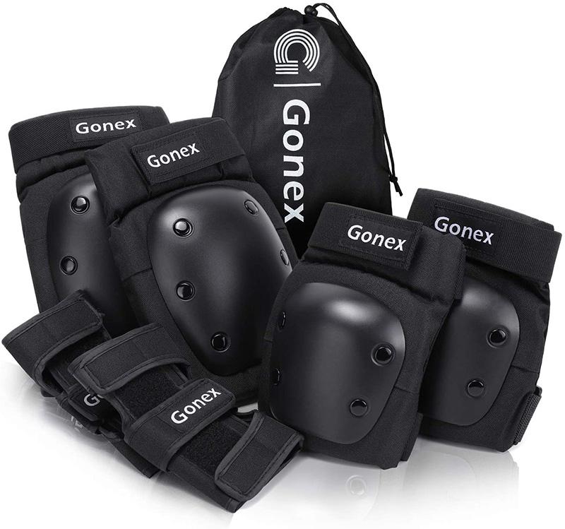 Avis Gonex 6PCS Protection Roller Réglable Protection Skateboard