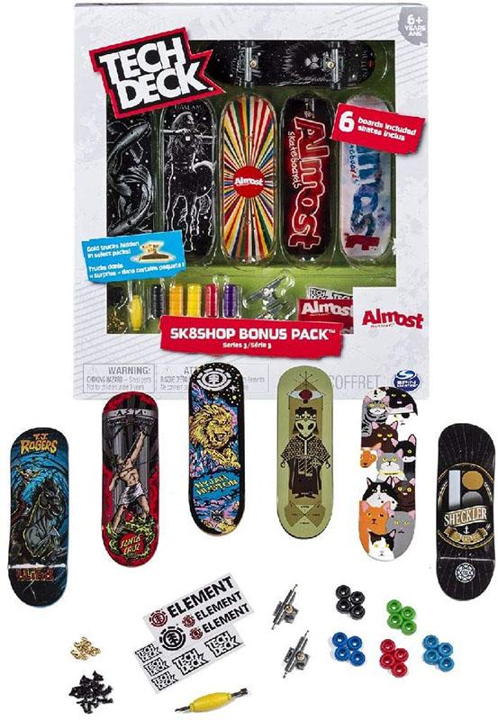 Tech Deck - 6028845 - Skate Shop Bonus Pack