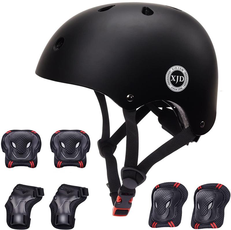 XJD Casque Vélo Enfant Sets de Protection Enfant de 3-13 Ans jpg