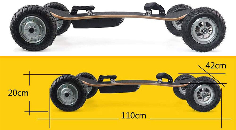 Avis Cxcboard Skate électrique Tout-Terrain Mountain Board