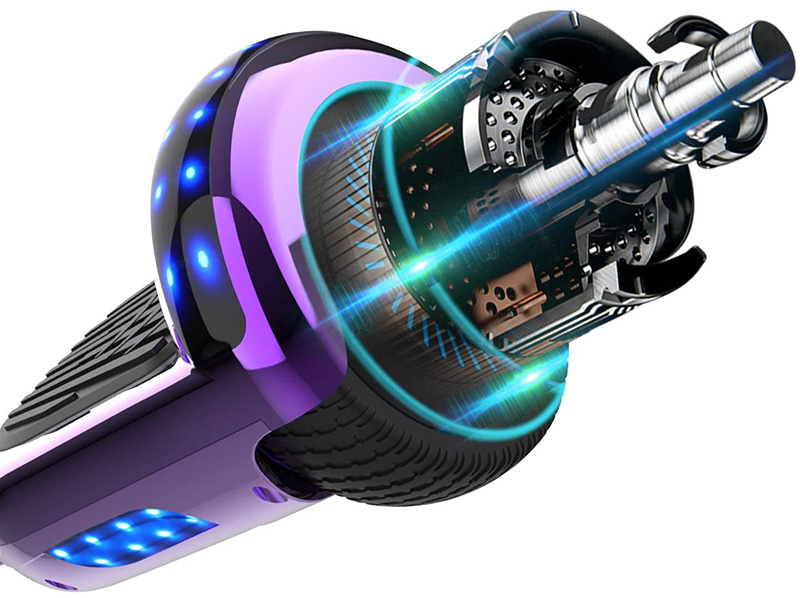 Avis NEOMOTION Hoverboard 6.5 Pouces Overboard avec Bluetooth LED