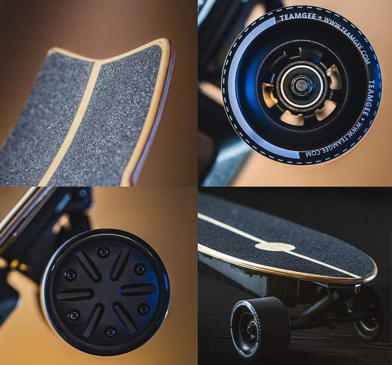 Avis Teamgee Skateboard électrique H20 Mini