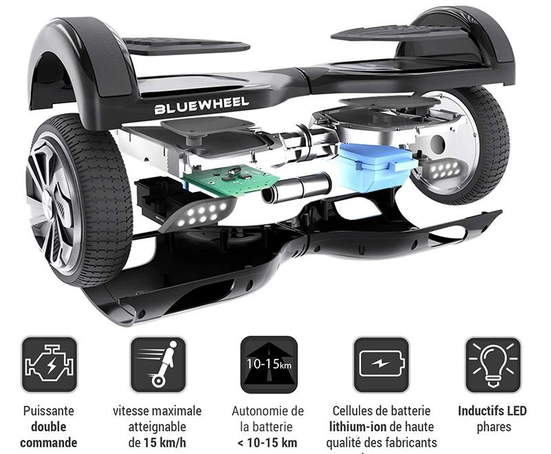 Bluewheel HX310s Smart APP Self Balance Scooter Board