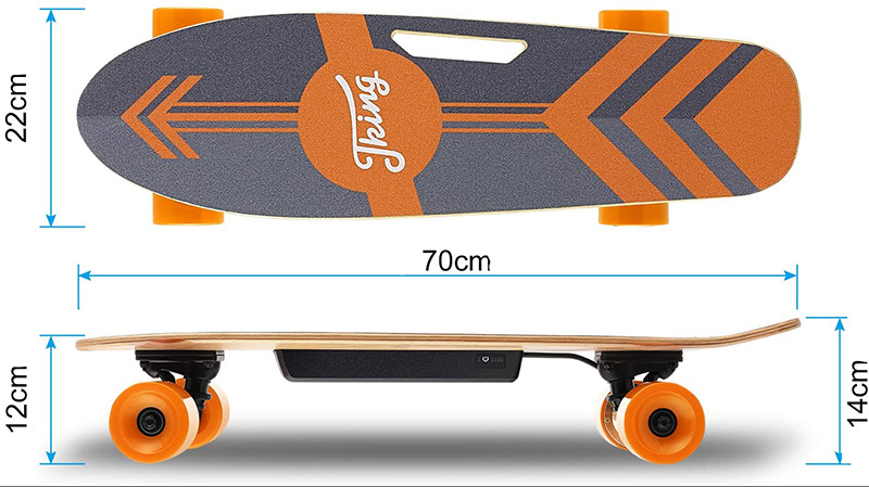 Caroma Skateboard électrique
