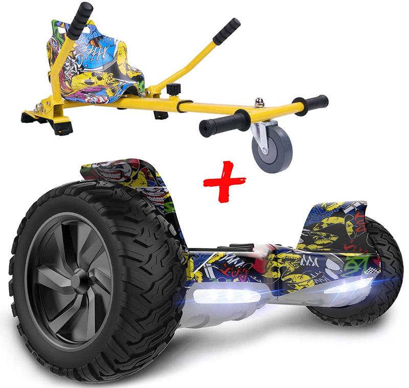 GeekMe Gyropode Auto-équilibré Scooter électrique 8,5