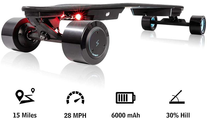 SKATEBOLT Skateboard électrique Breeze II