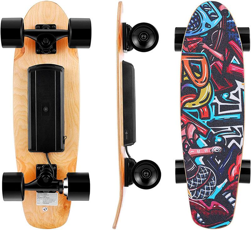 Skateboard électrique avec télécommande
