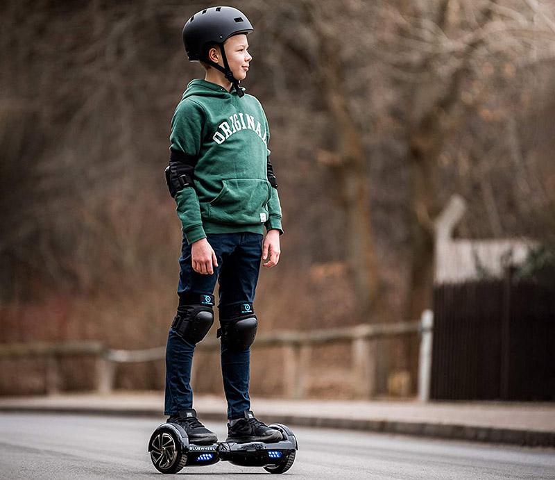 Test Bluewheel HX310s Smart APP Self Balance Scooter Board