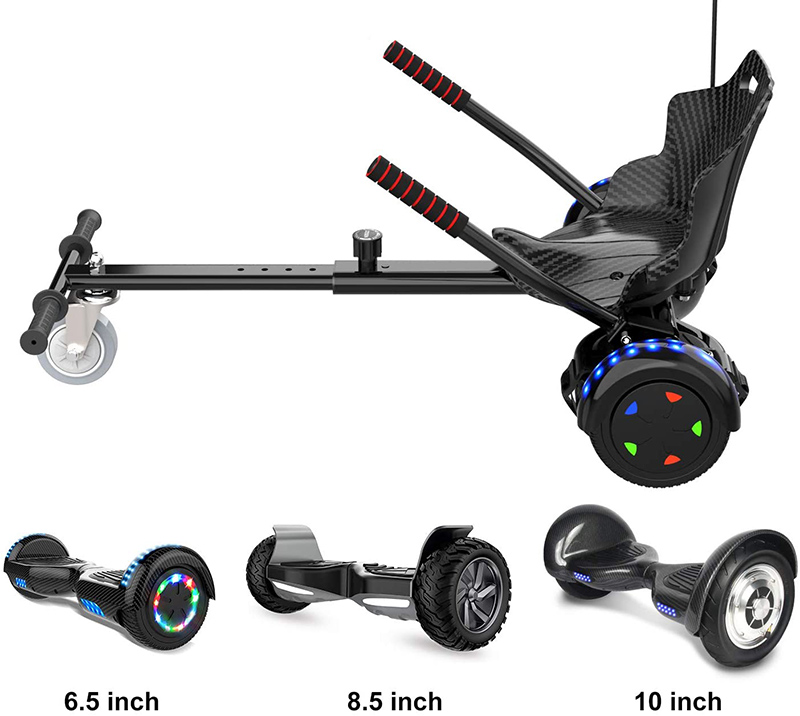 Test COLORWAY HoverKart pour Hover Scooter Board Kart Siège