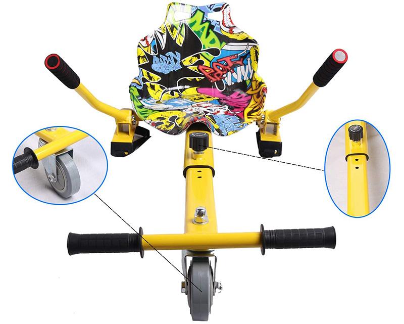 Test GeekMe Gyropode Auto-équilibré Scooter électrique 8,5