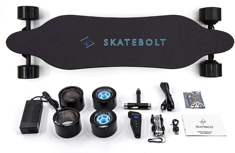 Test SKATEBOLT Skateboard électrique Breeze II