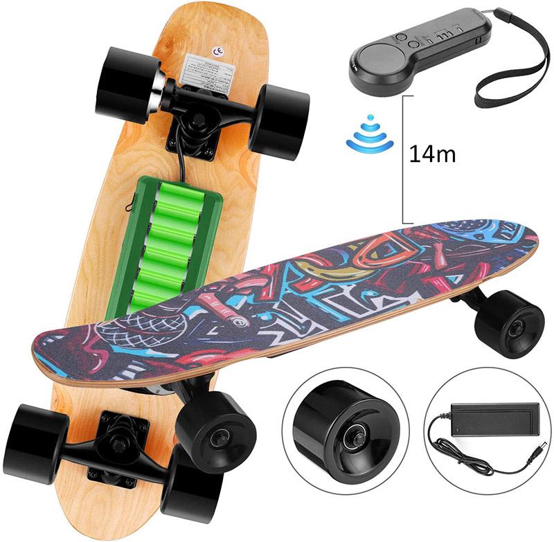 Test Kulzer Skateboard électrique avec télécommande