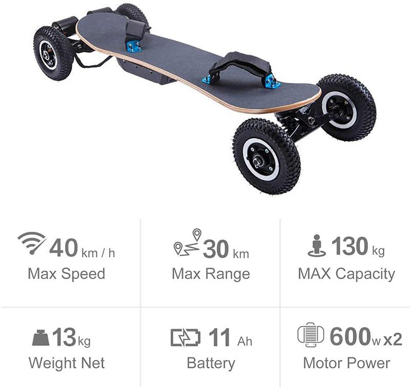 XLY Planche à roulettes Tout Terrain