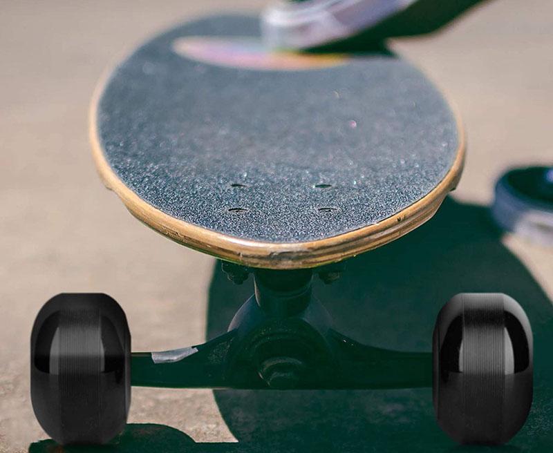Test - NONMON 4Pcs Roues de Skateboard 52mm 95A avec 8 Pcs Roulements à Billes 608RS ABEC-9