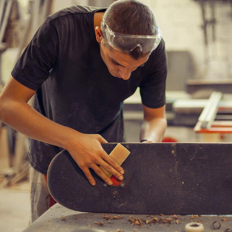 Test - Outus Nettoyeur de Skateboard en Caoutchouc