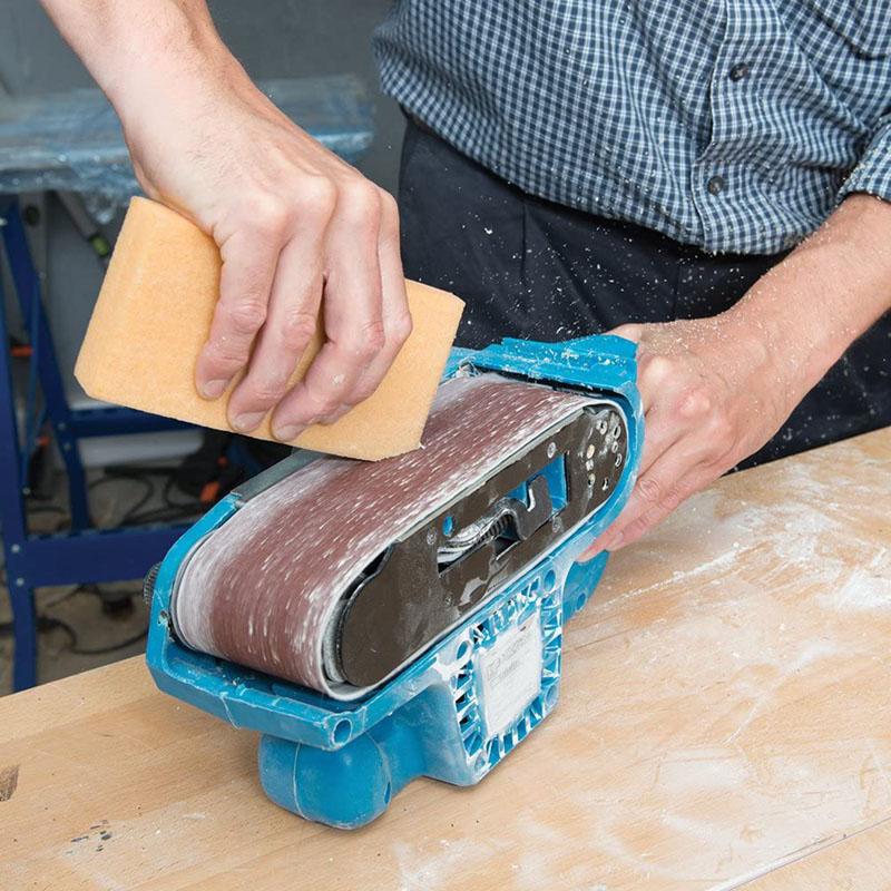 Test - Silverline 218490 Bâton de nettoyage pour bandes abrasives