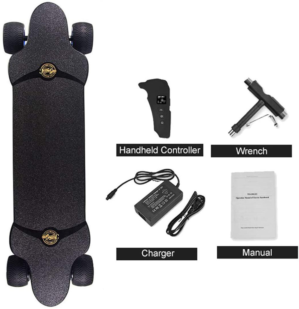 avis Teamgee H20T Skateboard électrique