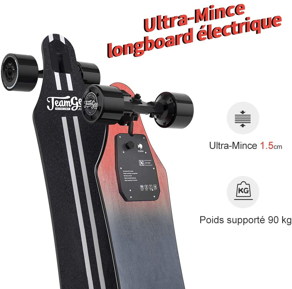 comparatif du Longboard Électrique Teamgee H5