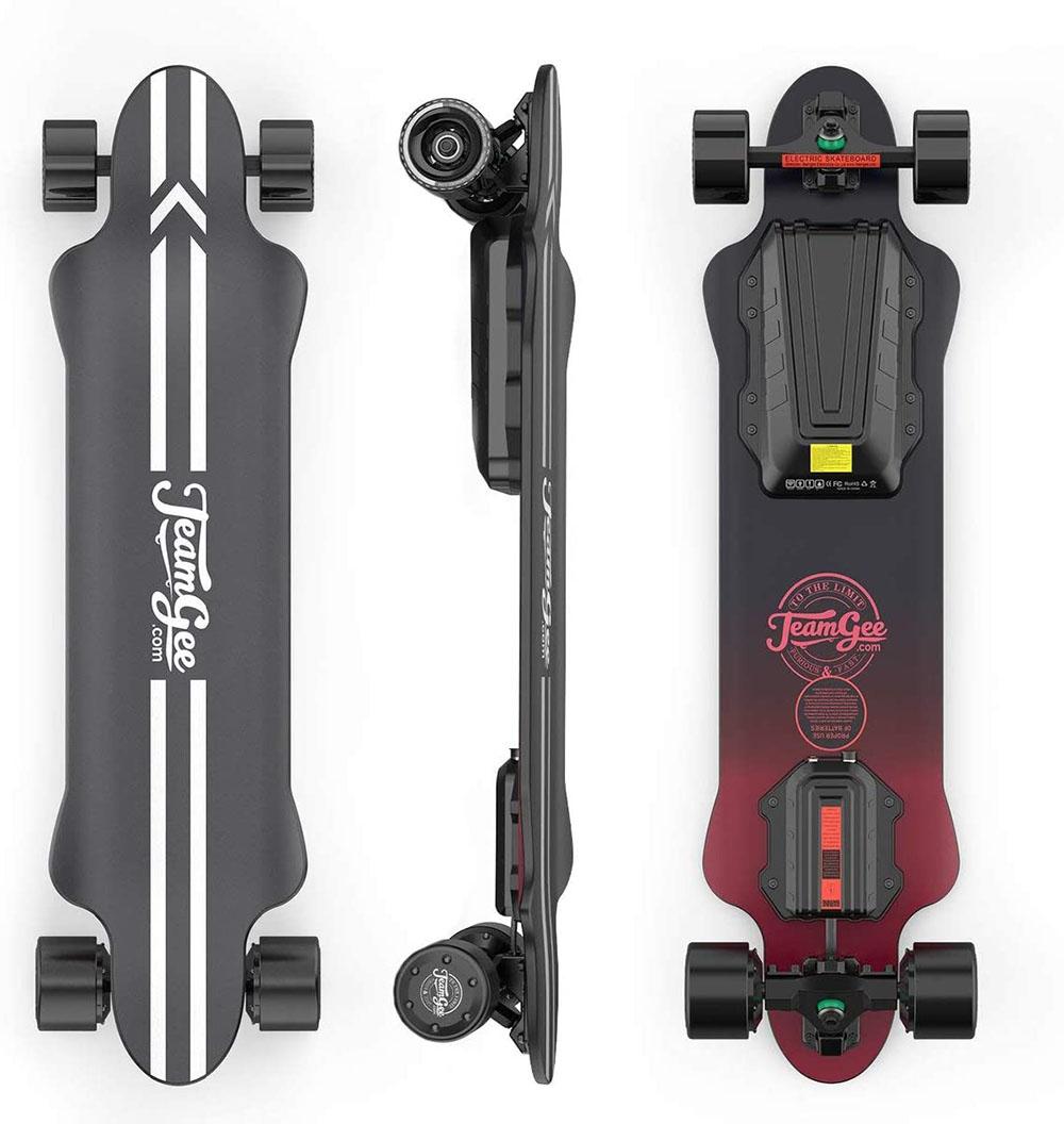 test Teamgee H20 Skateboard électrique