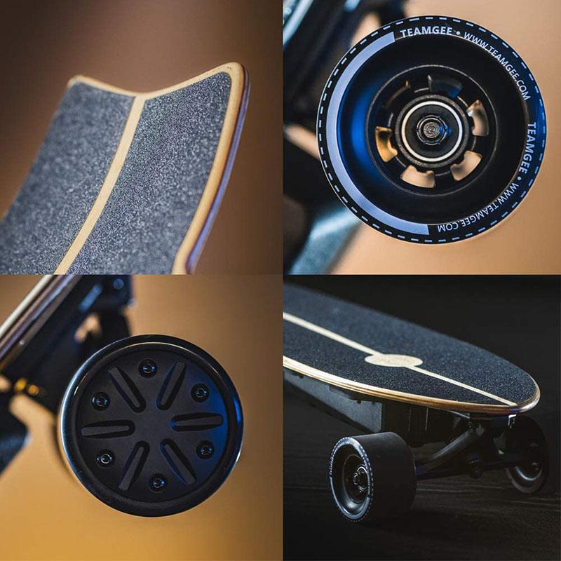 test et avis du Skateboard électrique Teamgee H20 Mini
