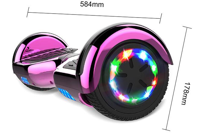 avis GeekMe Gyropode 6.5 Pouce Hoverboards électrique