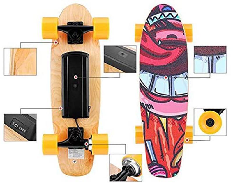 avis du WESOKY Planche à roulettes électrique Skateboard électrique