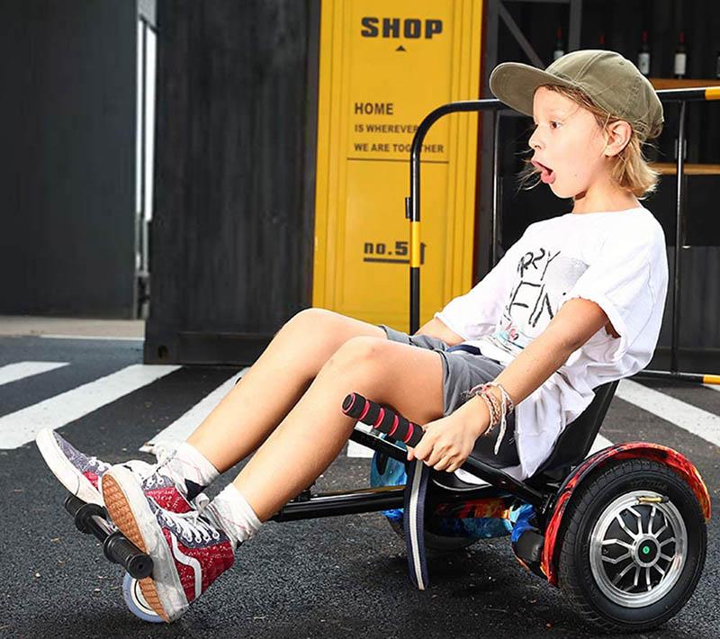 avis hoverkart YOLEO Siège pour hoverboard