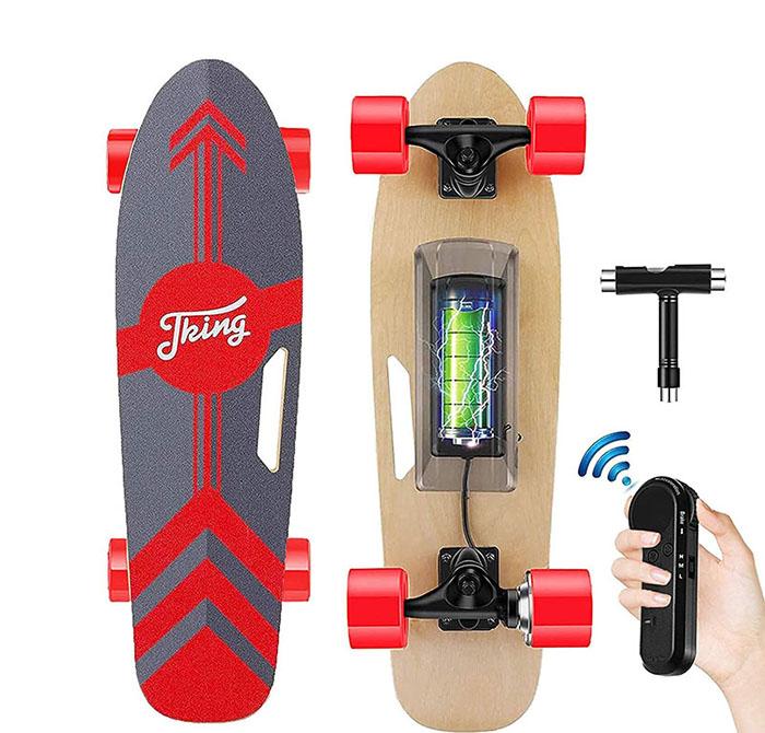 avis sur le Skateboard électrique Tooluck
