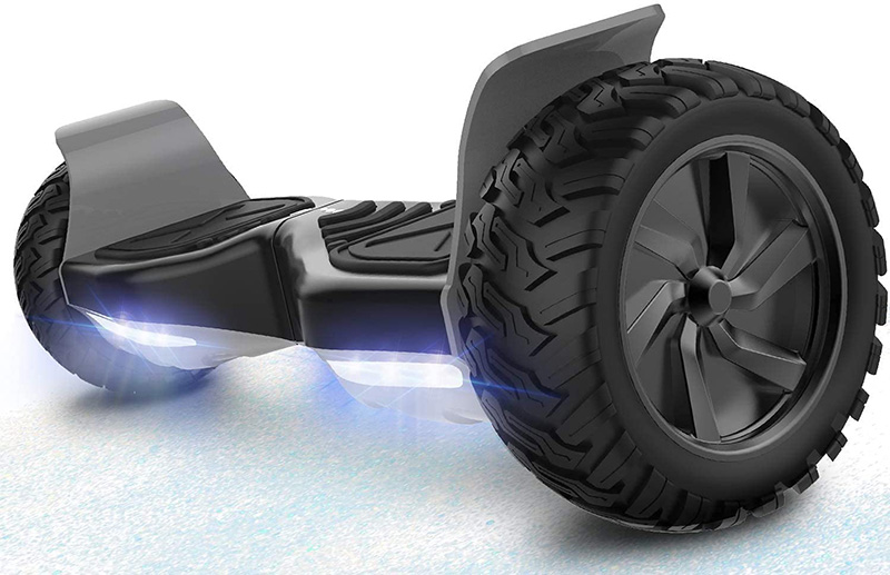 test RCB Hoverboard Overboard Tout Terrain