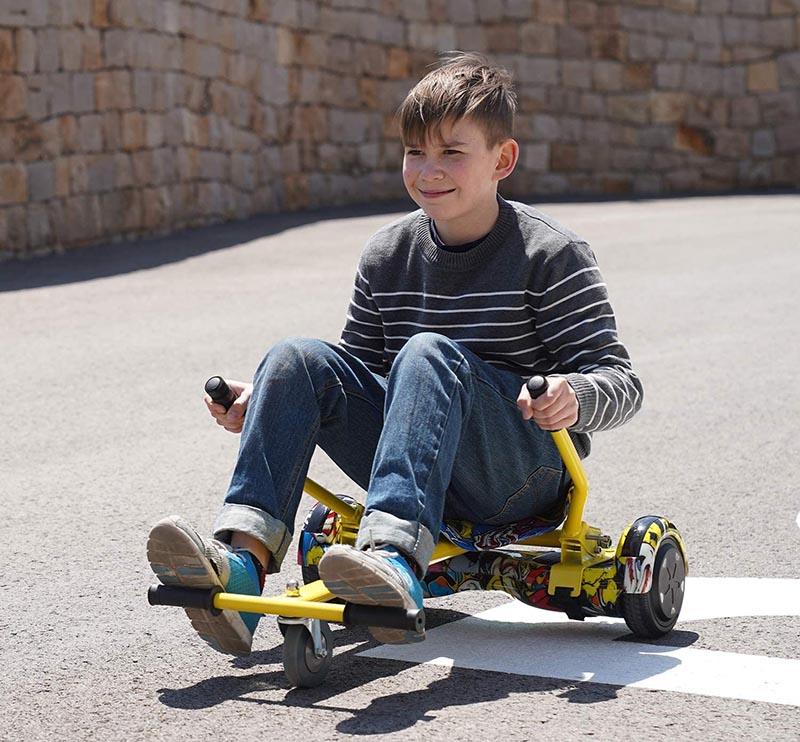 test RCB Hoverkart pour Hoverboard