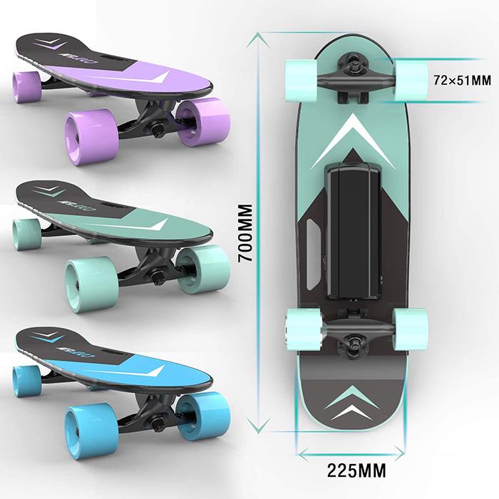 test du Skateboard électrique HITWAY