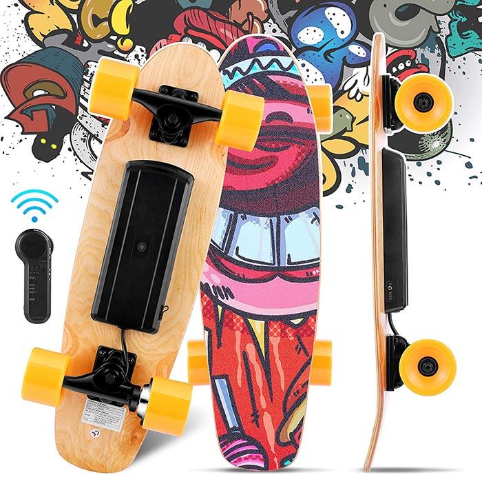 test du WESOKY Planche à roulettes électrique Skateboard électrique
