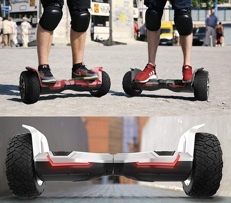 "test hoverboard Gyropode Premium 8,5"" Bluewheel HX510 SUV"