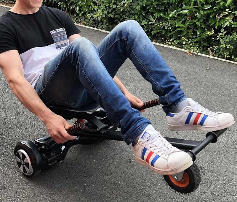 test hoverkart BEEPER Kart pour Hoverboard